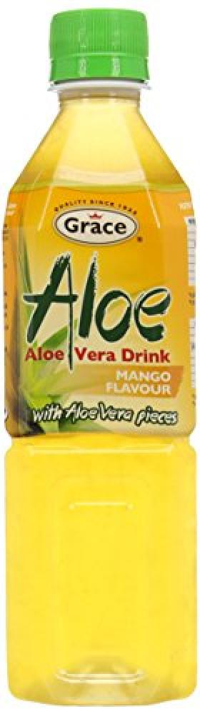 Grace Aloe Vera Drink Mango Flavour 500ml