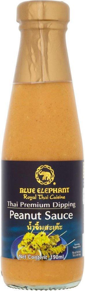 Blue Elephant Royal Cuisine Thai Premium Dipping Peanut Sauce 190g