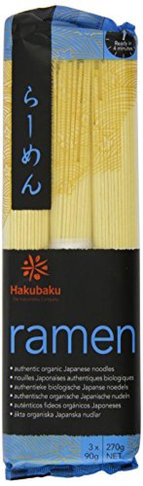 Hakubaku Japanese Ramen Noodles Organic 270 g