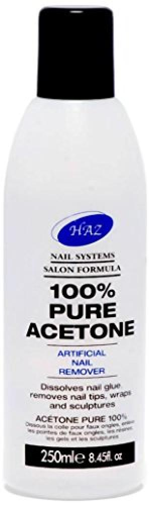 Haz Pure Acetone Nail Polish Remover 250ml