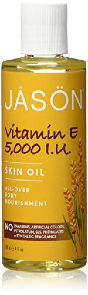 Jason Natural Products Vitamin E Oil 5000 I.U 120ml
