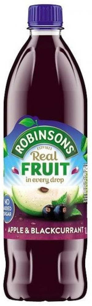 Robinsons Apple and Blackcurrant Fruit Squash 1l