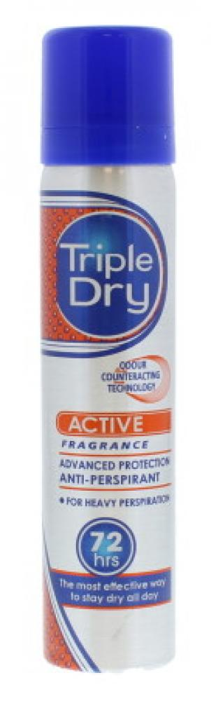 Triple Dry Anti Perspirant Spray 75ml