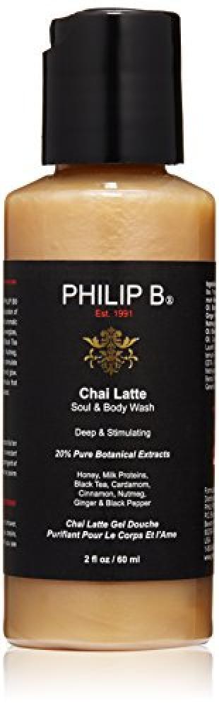 PHILIP B Chai Latte Soul and Body Wash 60 ml
