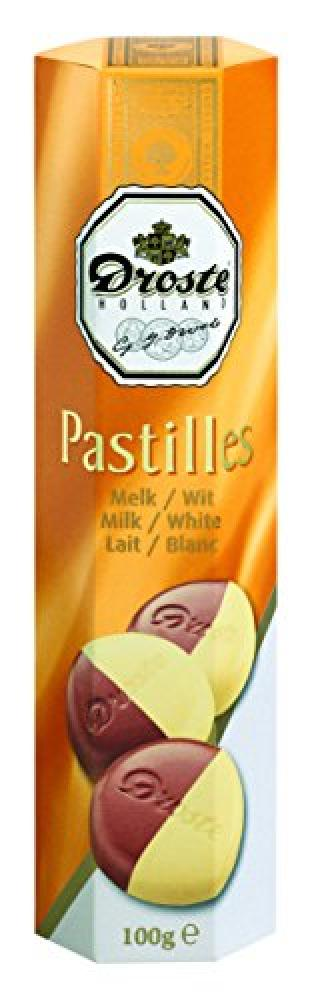 Droste Holland Milk and White Chocolate Pastilles in a Tube 100 g