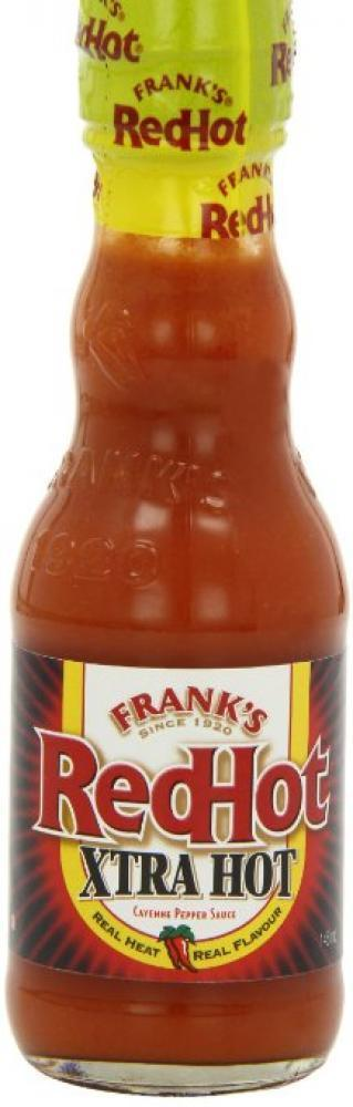 Franks Red Hot Xtra Hot Cayenne Pepper Sauce 148ml