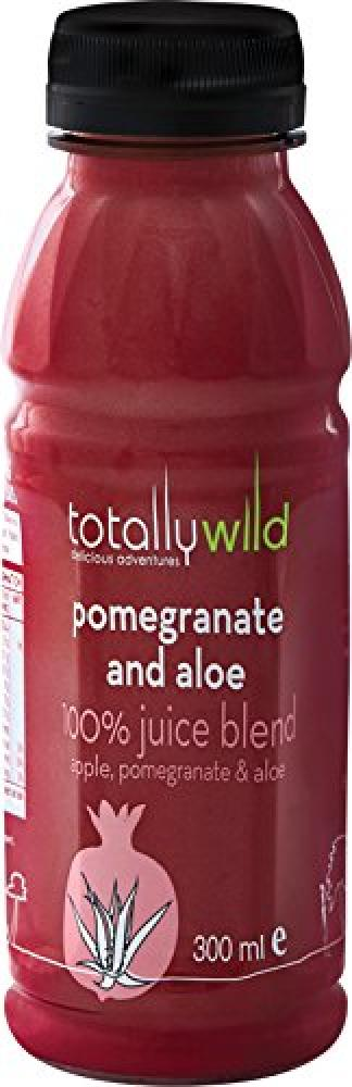 Totally Wild Aloe and Pomegranate Fruit Juice 300ml