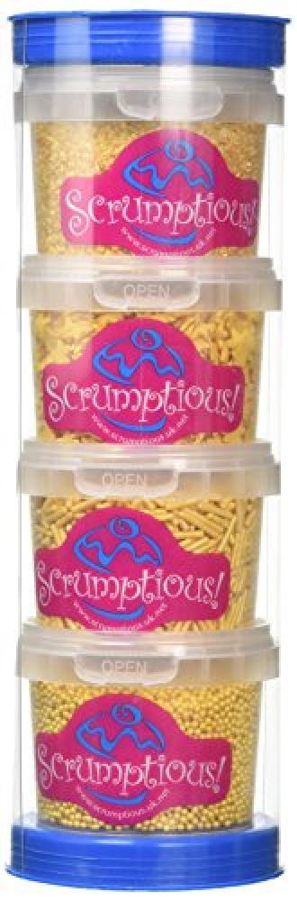 Scrumptious Sprinkles Sprinkle Caddy Gold