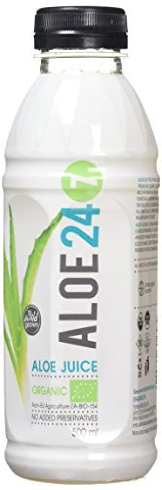 Aloe 24-7 Organic Aloe Juice with Lemon Ginger and Honey 500ml