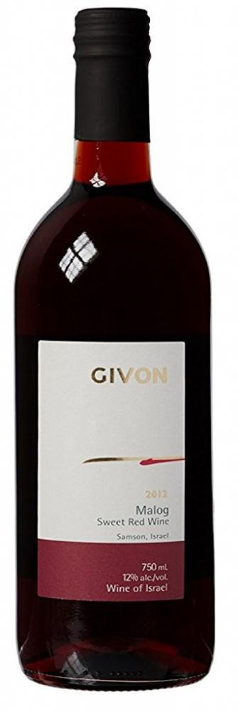 Givon Malog Sweet Red Wine Blended 75cl