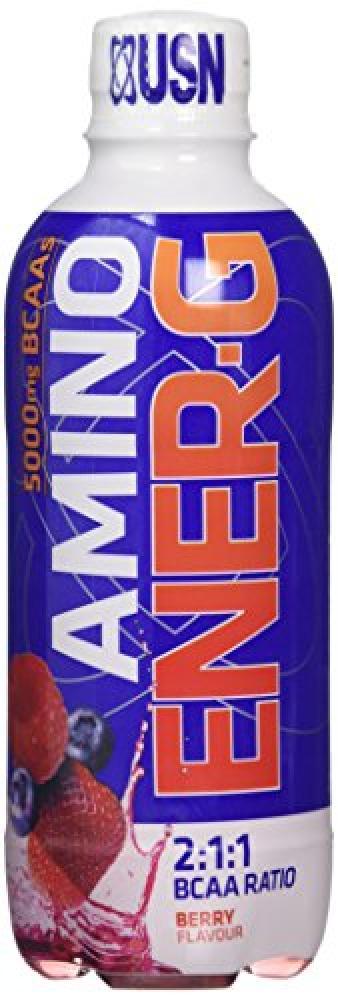 USN Amino Ener-G BCAA Energy Drink Berry 375 ml