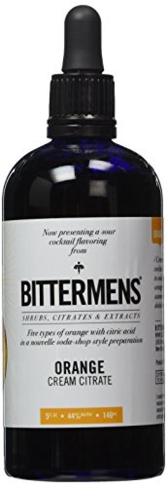 Bittermens Orange Cream Citrate Cocktail Bitter 146ml