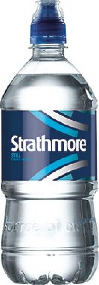 Strathmore Still Spring Water Sports Cap 750ml