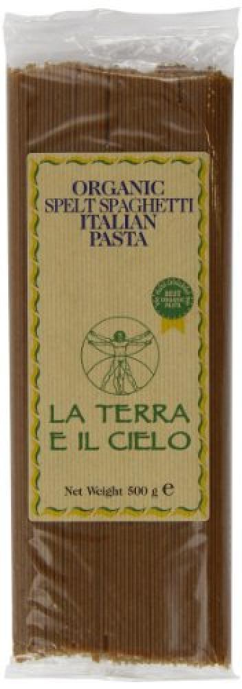 La Terra E Il Cielo Organic Spelt Spaghetti 500g