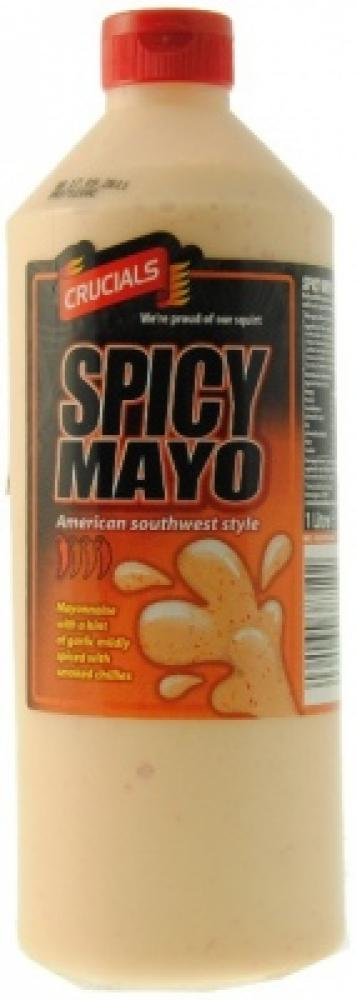 Crucials Spicy Mayo American Southwest Style 1 Litre