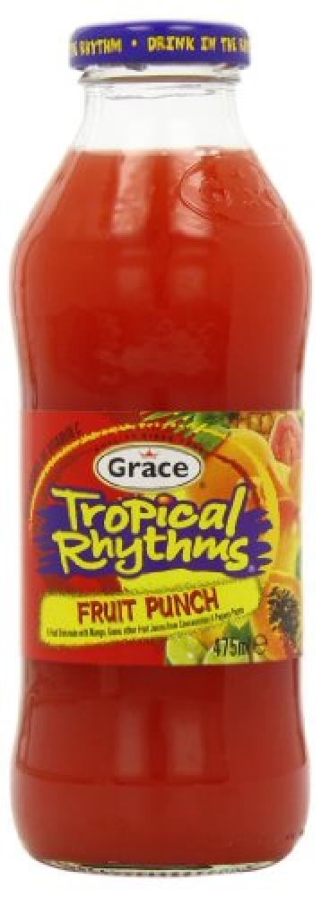 Grace Tropical Rhythms Fruit Punch 475ml