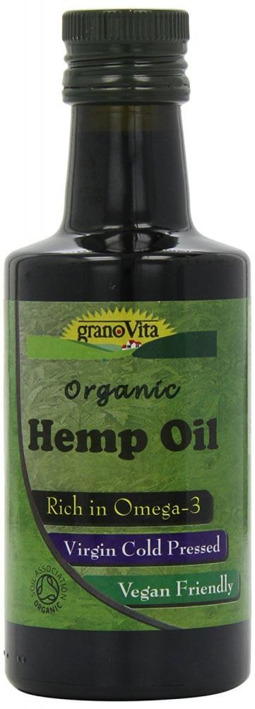 Granovita Organic Hemp Organic Oil 260 ml