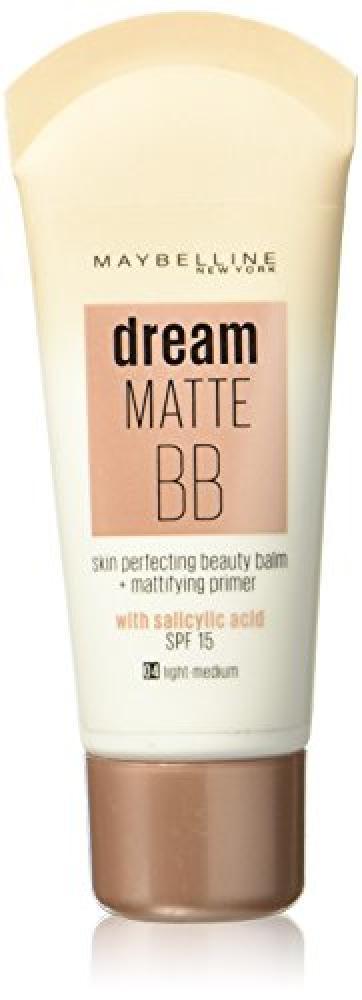 Maybelline dream Matte BBlight-mediumSPF 15 30ml