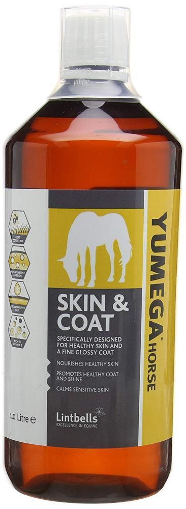 Lintbells YuMEGA Horse Skin and Coat Supplements 1L