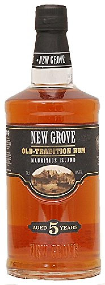 New Grove 5 Years Old Tradition Rum 70 cl