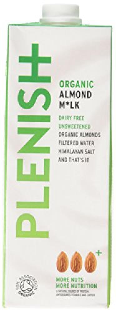 Plenish Organic Almond Drink 1L