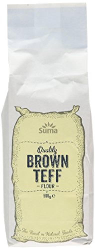 Suma Quality Brown Teff Flour 500g