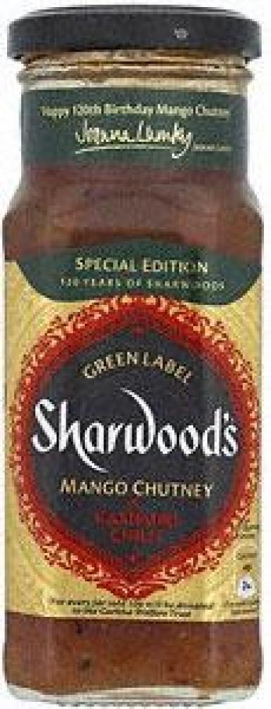 Sharwoods Mango Chutney and Kashmiri Chilli 360g