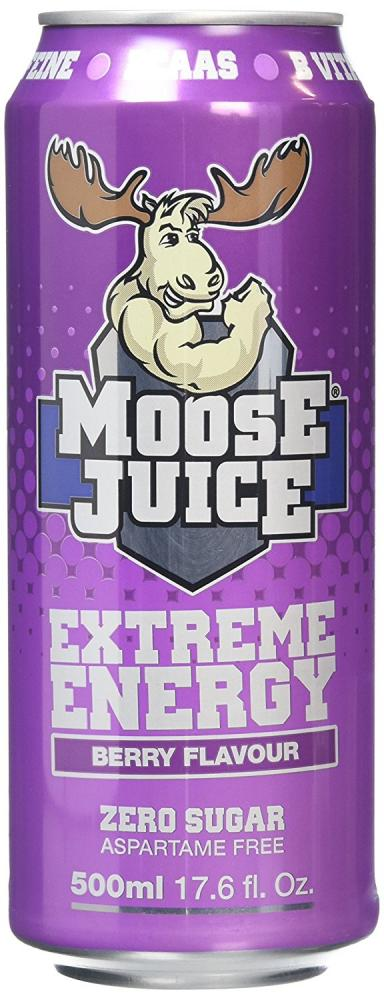 Muscle Moose Extreme Energy Berry Flavour Juice 500ml