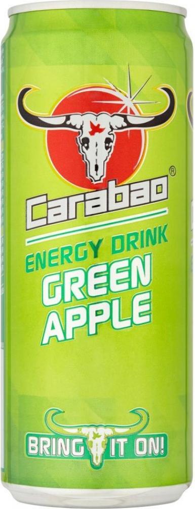 Carabao Energy Drink Green Apple 325ml