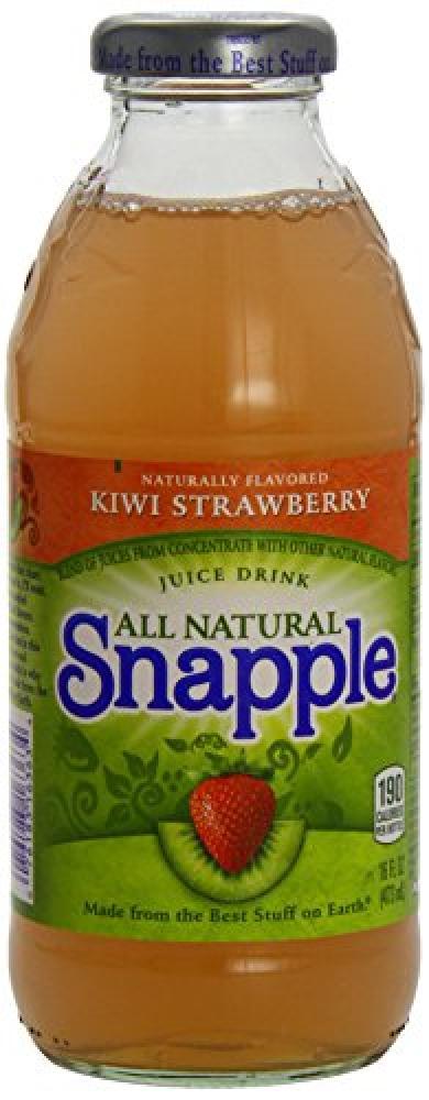 Snapple Kiwi Strawberry Bottles 473ml