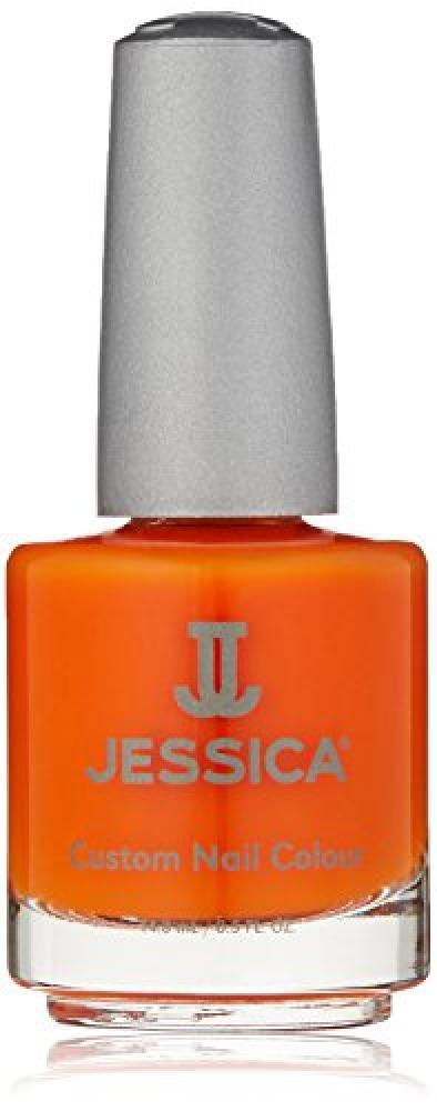 Jessica Geleration UVLED Gel PolishOrange ZestNeon 15ml