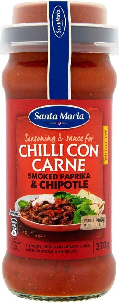 Santa Maria Chilli Con Carne Smoked Paprika and Chipotle 370g