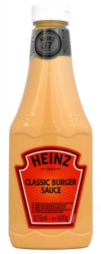 Heinz Classic Burger Sauce 920g