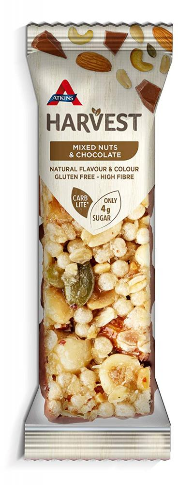 Atkins Harvest Mixed Nuts and Chocolate 40g