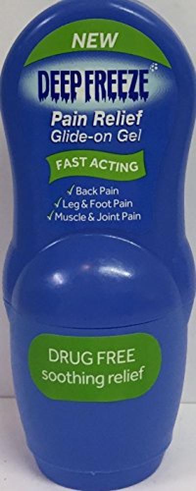 Deep Freeze Glide On Gel Pain Relief 50 g