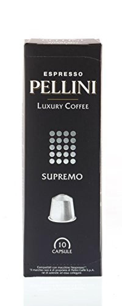 Pellini Caffe Luxury Coffee Supremo-Nespresso Compatible Capsules 50g