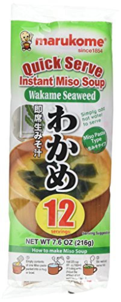 Marukome Instant Paste Type Miso Soup 216g