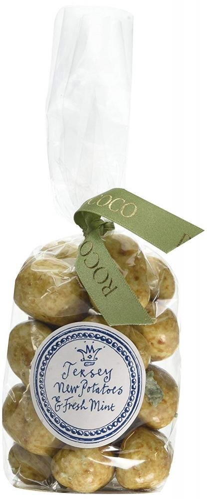 Rococo Chocolates Jersey New Potatoes and Fresh Mint Praline 200g