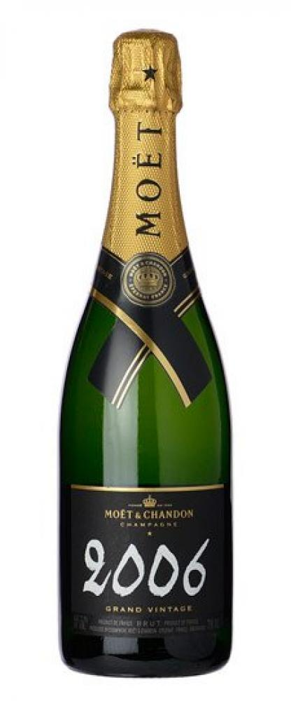 Moet and Chandon Grand Vintage Champagne 750ml 2006