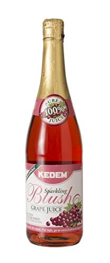 Kedem Sparkling Blush Grape Juice 750ml