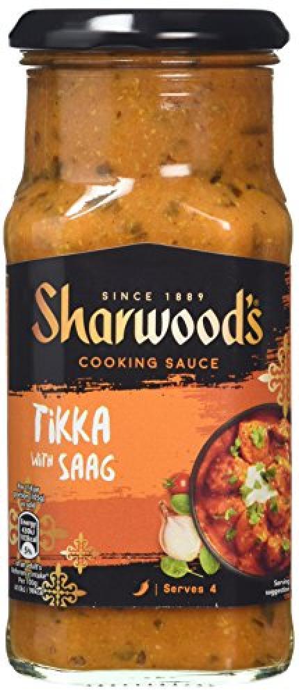 Sharwoods Tikka with Saag 420g