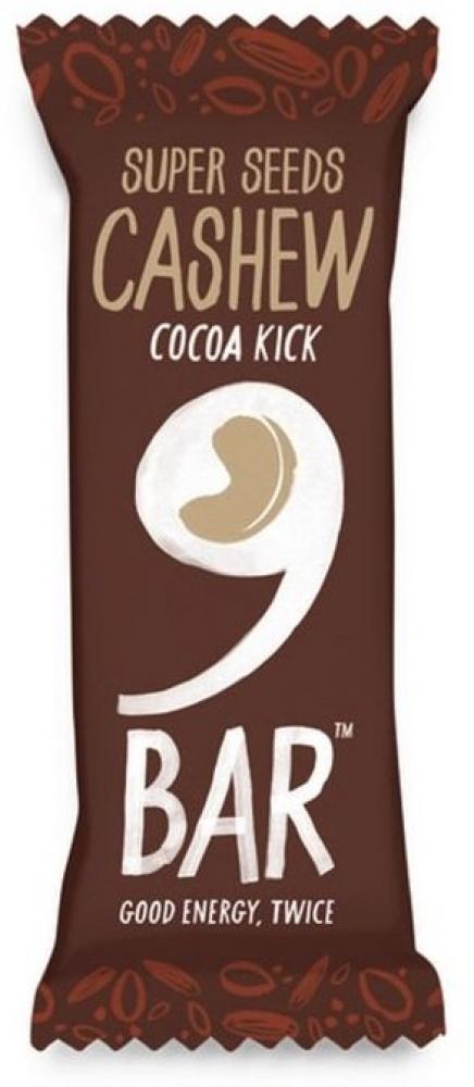 9Bar Cocoa Kick Cashew Bar 40g