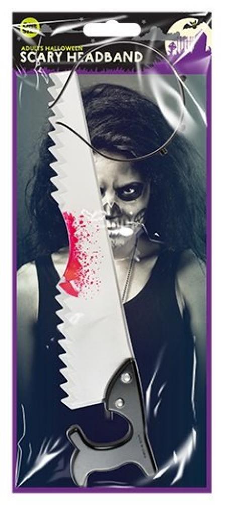 Halloween Scary Headband Saw