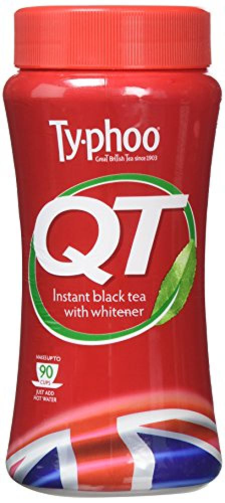 Typhoo Instant Black Coffee with Whitener 225g