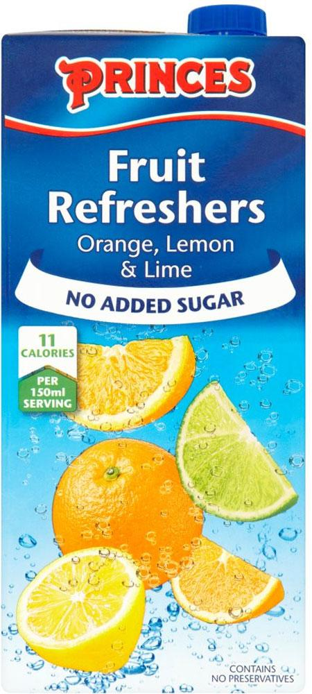 Princes Fruit Refreshers Orange Lemon And Lime 1l