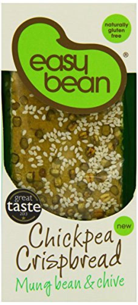 Easy Bean Chickpea Crispbread Mung Bean and Chive 110 g