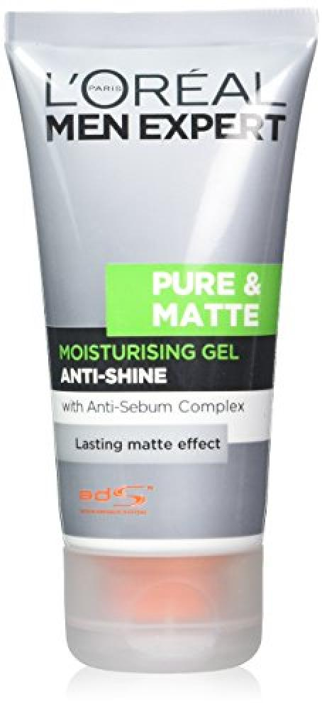 LOreal Paris Men Expert Pure and Matte Gel Moisturiser 50ml