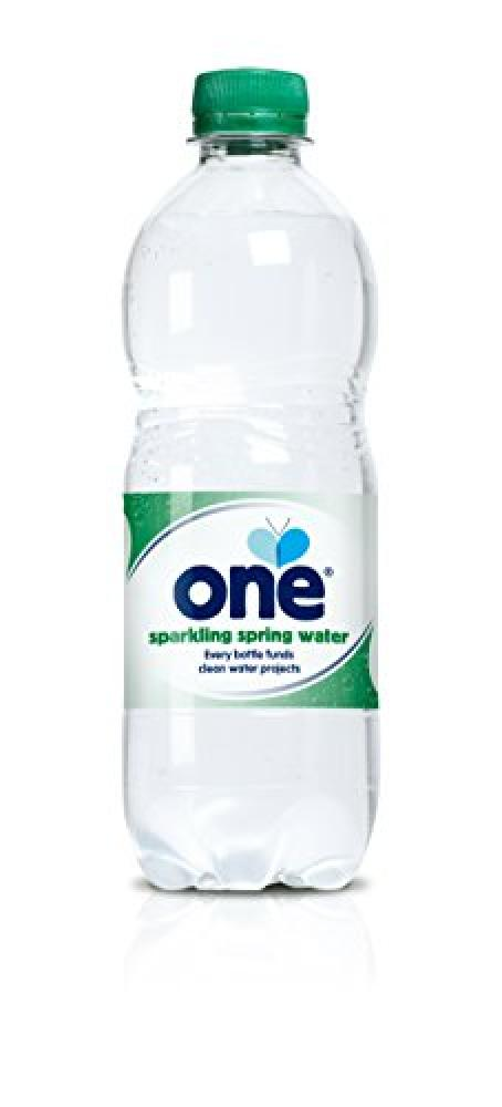 One Sparkling Spring Water 500ml