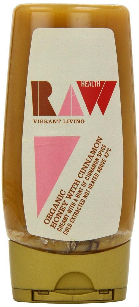 Raw Health Organic Squeezy Cinnamon Honey 350g