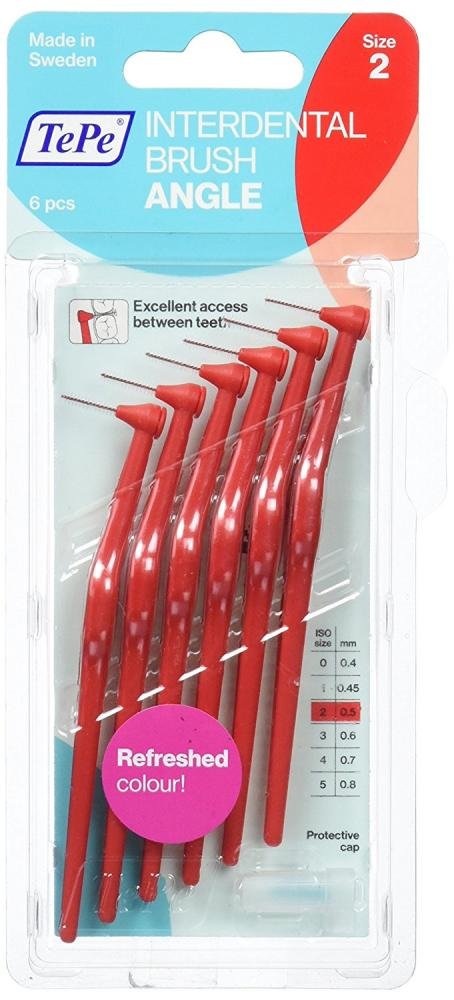 TePe Interdental Bruch Angle 6 Pack